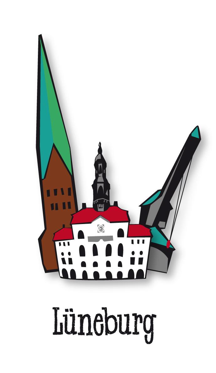 Illustration Stadt Lüneburg