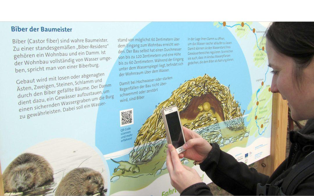 Infotafeln und Marketingkonzept Innerste-Radweg