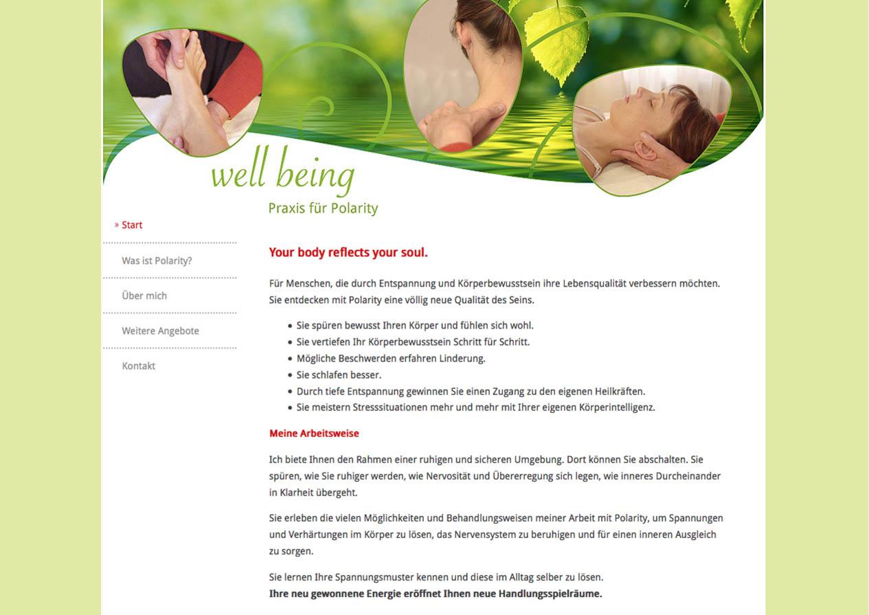 Internetseite Polarity Hannover