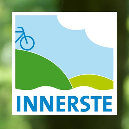 Logo für den Innerste-Radweg