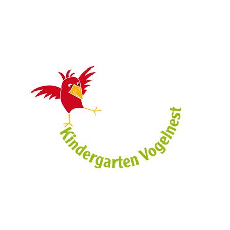 Logo für den Kindergarten Vogelnest