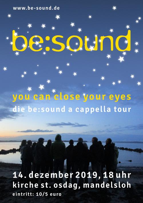 Plakat Chor be-sound